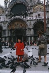 Mom and I, San Marco Square, Venice Italy 1965