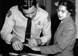 The arrest of Miss Rosa Parks - Historical Context