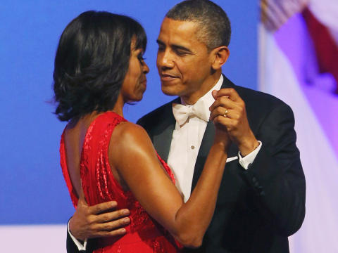 POTUS & FLOTUS Obama Take it all with grace