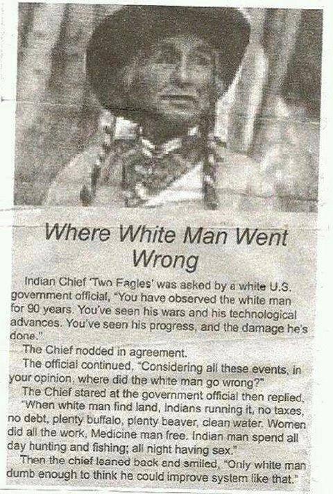 White Man Improvements